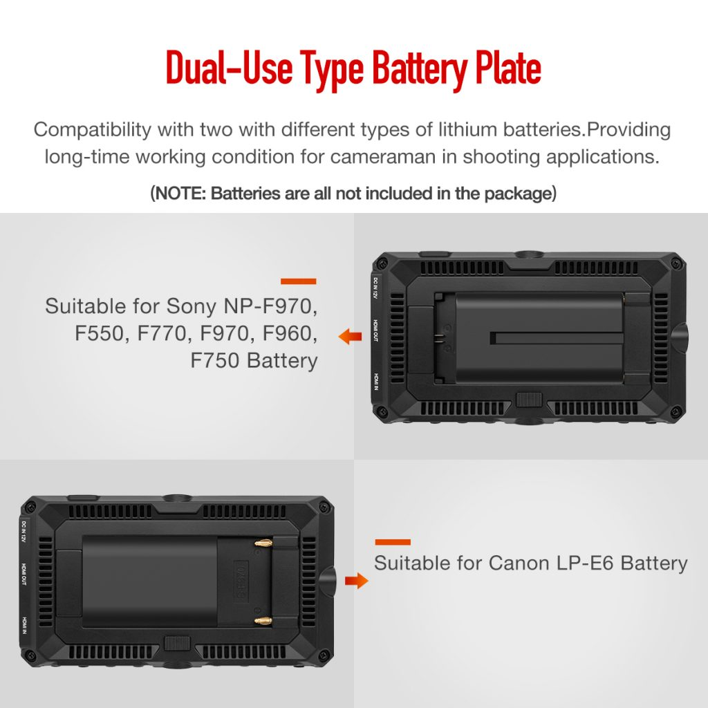 Dual-Use Type Battery Plate