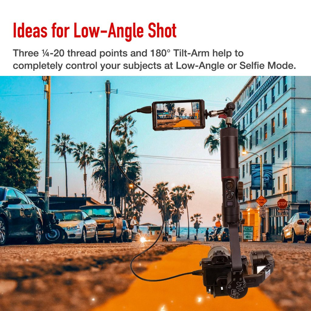 Ideas for Low-Angle Shot