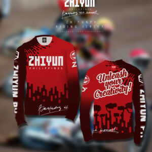 ZHIYUN UNLEASH YOUR CREATIVITY RIDING JERSEY
